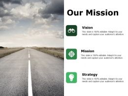Our Mission Ppt Styles Background Designs