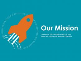 Our Mission Ppt Styles Brochure