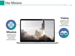 Our Mission Ppt Styles Clipart