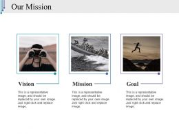 Our Mission Ppt Styles Graphics Design