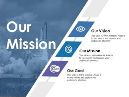 Our Mission Ppt Styles Graphics Tutorials