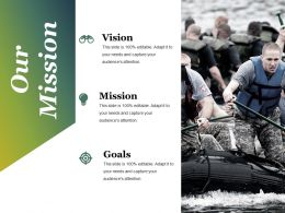 Our Mission Ppt Styles Icons
