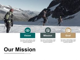 Our Mission Ppt Styles Smartart