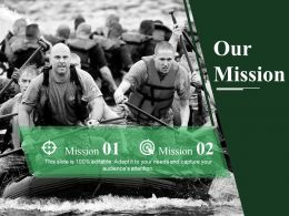 Our Mission Ppt Summary