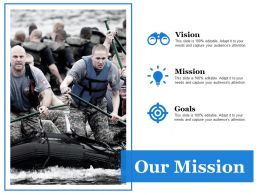Our Mission Ppt Summary Clipart