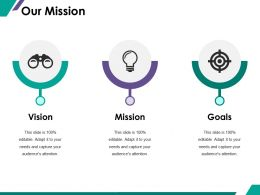 Our Mission Ppt Summary Example Introduction