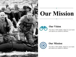 Our Mission Ppt Summary Graphics Template