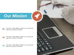 Our Mission Ppt Summary Outfit