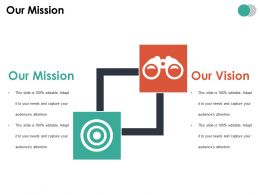 Our Mission Ppt Summary Visuals