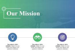 Our Mission Presentation Design
