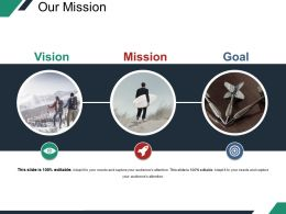 Our Mission Presentation Diagrams Template 2