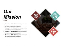 Our Mission Presentation Portfolio