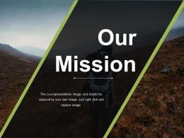 Our Mission Presentation Powerpoint Example