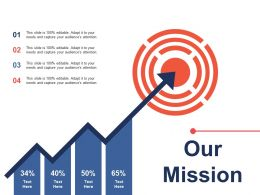 Our Mission Sales Target Ppt Pictures Shapes
