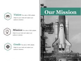Our Mission Sample Of Ppt Presentation