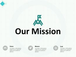 Our Mission Vision A351 Ppt Powerpoint Presentation Summary Background Image
