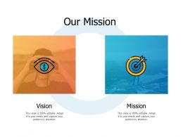 Our Mission Vision A470 Ppt Powerpoint Presentation Summary Background