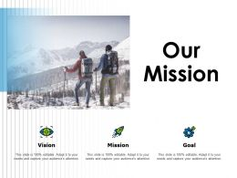 Our Mission Vision A84 Ppt Powerpoint Presentation Icon Ideas