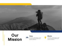 Our Mission Vision A96 Ppt Powerpoint Presentation File Aids