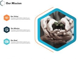 Our Mission Vision And Goal K30 Ppt Powerpoint Presentation Slides Rules