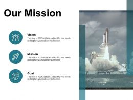 Our Mission Vision B121 Ppt Powerpoint Presentation File Formats