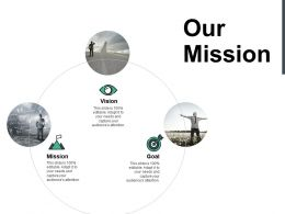 Our Mission Vision B174 Ppt Powerpoint Presentation File Tips