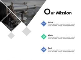 Our Mission Vision B269 Ppt Powerpoint Presentation Ideas Influencers