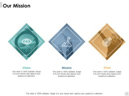 Our Mission Vision B49 Ppt Powerpoint Presentation File Guide