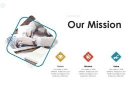 Our Mission Vision C1061 Ppt Powerpoint Presentation Styles Vector