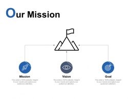 Our Mission Vision C89 Ppt Powerpoint Presentation Visual Aids Professional