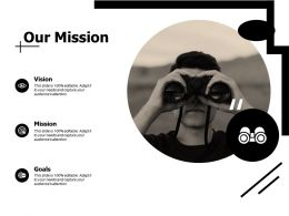 Our Mission Vision D304 Ppt Powerpoint Presentation File Icon