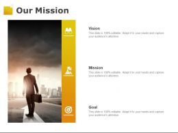 Our Mission Vision F428 Goal Ppt Powerpoint Presentation Pictures Portfolio
