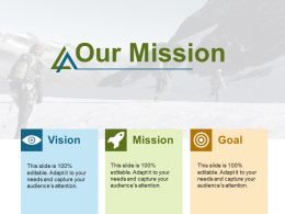 Our Mission Vision F467 Ppt Infographic Template Graphics Design