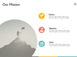 Our Mission Vision Goal A32 Ppt Powerpoint Presentation File Ideas