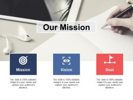 Our Mission Vision Goal A340 Ppt Powerpoint Presentation Layouts Structure