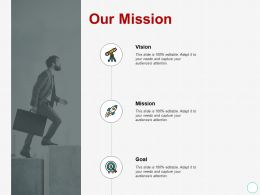 Our Mission Vision Goal A431 Ppt Powerpoint Presentation Summary Layouts