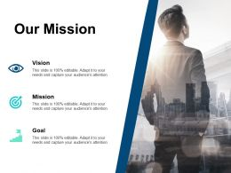 Our Mission Vision Goal B166 Ppt Powerpoint Presentation File Themes