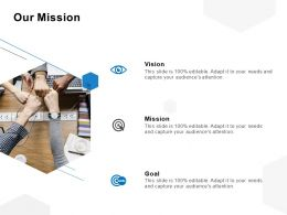 Our Mission Vision Goal C1047 Ppt Powerpoint Presentation File Summary