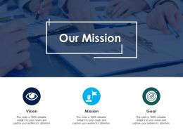 Our Mission Vision Goal C115 Ppt Powerpoint Presentation File Show