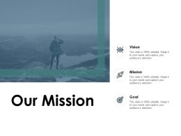 Our Mission Vision Goal C225 Ppt Powerpoint Presentation Gallery Skills