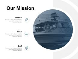 Our Mission Vision Goal C496 Ppt Powerpoint Presentation Icon Professional