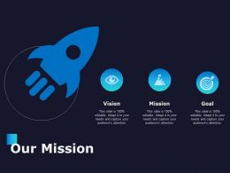 Our Mission Vision Goal C693 Ppt Powerpoint Presentation Summary Slideshow
