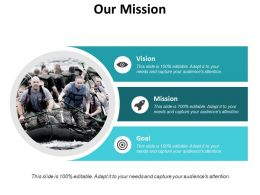 Our Mission Vision Goal C712 Ppt Powerpoint Presentation Styles Aids