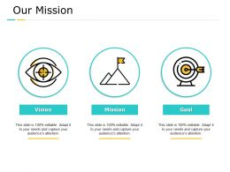 Our Mission Vision Goal C757 Ppt Powerpoint Presentation Summary Show