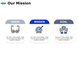 Our Mission Vision Goal C764 Ppt Powerpoint Presentation Icon Background Image