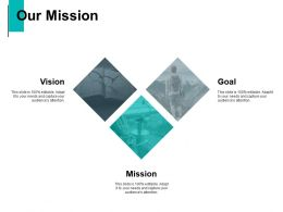 Our Mission Vision Goal C777 Ppt Powerpoint Presentation Graphics