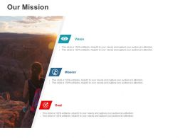 Our Mission Vision Goal C893 Ppt Powerpoint Presentation Icon Slide Portrait