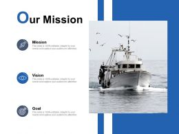 Our Mission Vision Goal C90 Ppt Powerpoint Presentation Design Templates