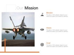 Our Mission Vision Goal C918 Ppt Powerpoint Presentation Graphics