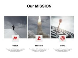 Our Mission Vision Goal C987 Ppt Powerpoint Presentation Icon Information